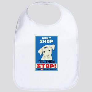 Say No To Puppy Mills Bib